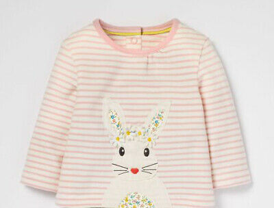 NEW RRP £30 Mini Boden Animal Friends Jersey Top