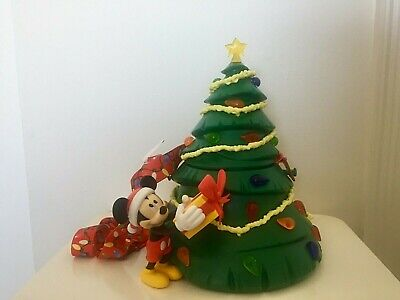 Disney Parks Exclusive Holiday Mickey Christmas Tree LIGHT UP Popcorn Bucket New