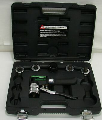 Excellent condition Hilmor Compact Swage Tool Kit With Case and 5 Heads