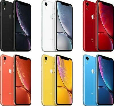 Apple iPhone XR GSM+CDMA Factory Unlocked Verizon T-Mobile AT&T Sprint
