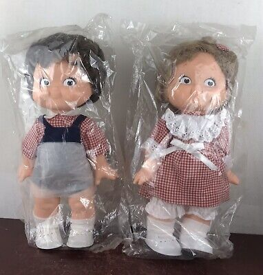 1988 Campbell's Kid Lot * Boy & Girl Doll New