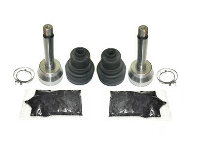Pair of Front Axle Outer CV Boot Kits 1991 Polaris 350L Trail Boss 4x4