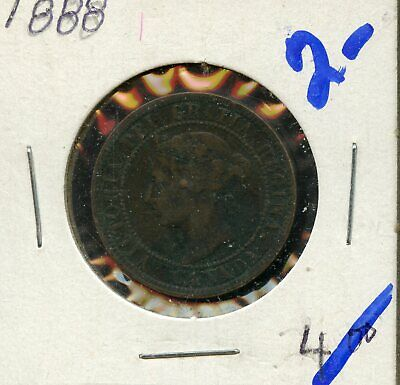 1888 Canada Large Cent Canadian Coin FN455