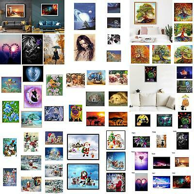 Full Drill 5D Diamond Painting Embroidery Cross DIY Stitch Kits Home Wall Decor