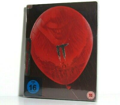 It Chapter One Blu-Ray Steelbook Mondo Artwork Import Region Free Brand New