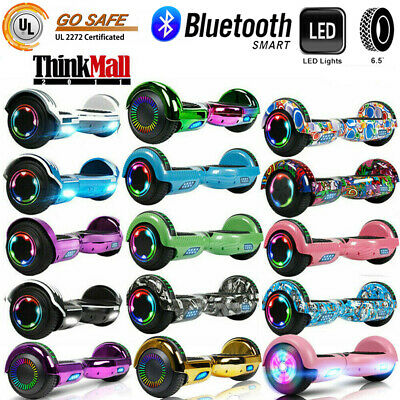 """6.5"""" Bluetooth Hoverboard Self Balance Electric Scooter UL Bag LED Best Gift Kid"""