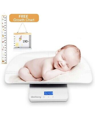 Baby Scale, Multi-Function Digital Baby Scale with Free Growth Chart