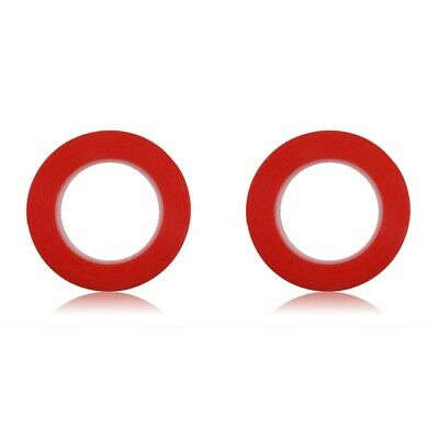 2-Pack 25M RED Film 3M Transparent DOUBLE SIDED ADHESIVE TAPE Phone Repair