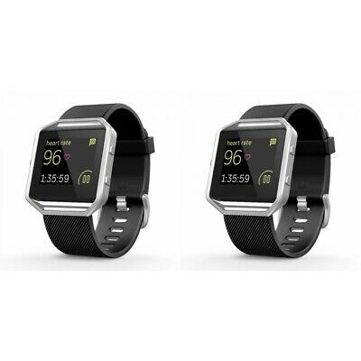 2-Pack For Fitbit Blaze Watch Replacement Band Large Silicone Sport Strap New