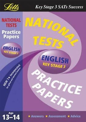 , National Test Practice Papers 2003: English Key stage 3, Very Good, Paperback