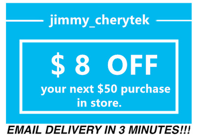 1x Lowes $8 OFF $50 Coupons Discount -IN MY STORE ONLY - lNSTANT DELIVERY- 3min