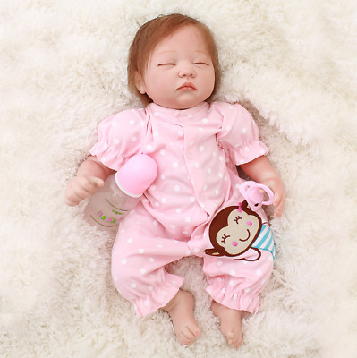 """Reborn Dolls 20"""" Soft Silicone Vinyl Handmade Realistic Real Life Baby Gifts"""
