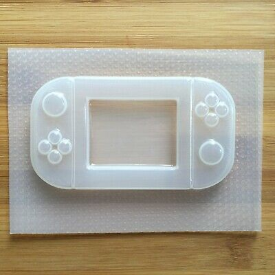 Handheld Game Console Plastic Mold Resin Molds Shaker Gamer UV resin mould
