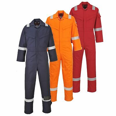 Portwest Aberdeen Flame Resistant Coverall Overall Boilersuit Bizflame