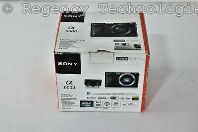 Sony Alpha A6000 Mirrorless Digital Camera | Ilce6000L/B | 24.3Mp | New Open Box