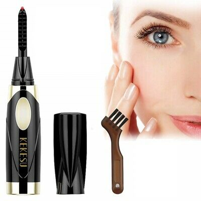 Heated Mini Eyelash Curler Ideal For Hard To Cure Lashes