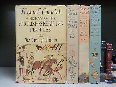 Churchill - A History Of The English-Speaking Peoples - 1st - 4 Books (ID:6402)
