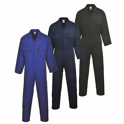 Portwest Euro Cotton Boilersuit Coverall Overall Workwear Pockets