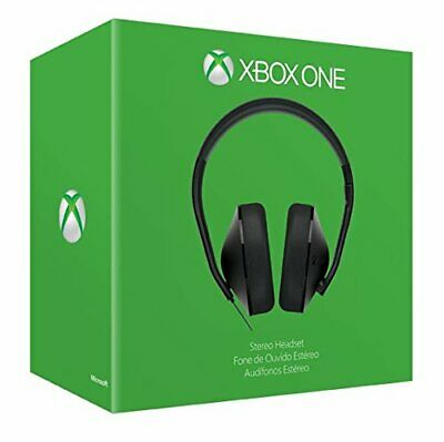 Microsoft Xbox One Chat Headset ONLY XB1 Brand New Factory Sealed Free UK P&P