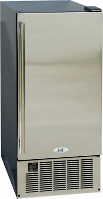SPT 50LBS Stainless Steel Under-Counter Built-In or Free Standing Ice Maker