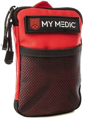 NEW My Medic The Solo Advanced Waterproof Lightweight First Aid Kit Red