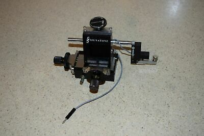 Signatone S-930 Micromanipulator Probe Positioner (Bd)