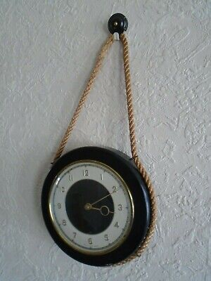 Vintage Smiths Nautical Maritime wall clock