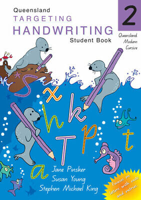 NEW QLD Targeting Handwriting : Year 2  By Jane  & Young, Susan Pinsker Paperbac