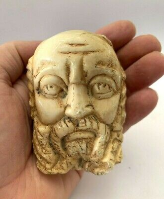 Ancienr Roman marble stone Head