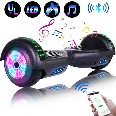 """Electric Scooter Hoverboard Bluetooth 6.5"""" UL Self Balance Without Bag Chrismas"""