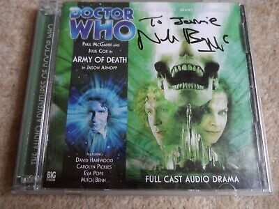 Dr Who Army Of Death (Doctor Who) by Jason Arnopp - Audio CD - SIGNED