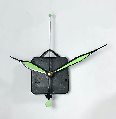 Luminous Hand Silent Wall Quartz Clock Movement Mechanism DIY Modern Home Tool