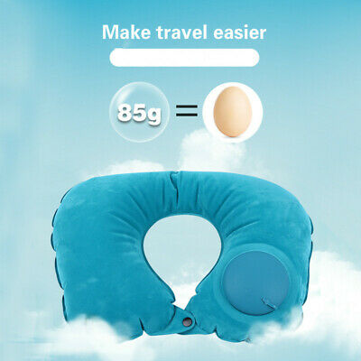 Inflatable Travel Pillow for Air Planes Neck Support Neck Pillow Cushion U Shape