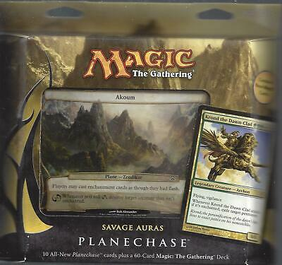 MTG Magic the Gathering   English Planechase 2012 Savage Auras  New Sealed