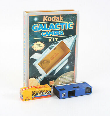 KODAK GALACTIC CAMERA, USES 110 FILM/cks/198411