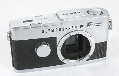 Olympus Pen-Ft Chrome Body, Weak Meter, Engraved/184799