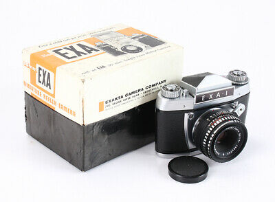 Ihagee Exa I + 50/2.8 Domiplan Boxed (Issues)/204538