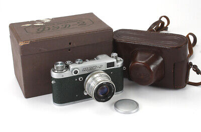 FED-2, 50/2.8 INDUSTAR-26M, BOXED, SHUTTER AND COSMETIC ISSUES/cks/188933