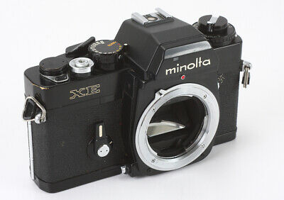 Minolta Xe Black Body, Unreliable Meter, Bad Battery Check/190975