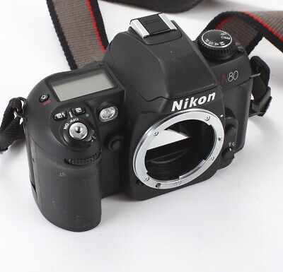 Nikon N80 Black Body, Sticky Grip/196687