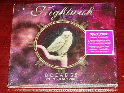 Nightwish: Decades - Live In Buenos Aires 2 CD + Blu-Ray BR Set 2019 NB USA NEW