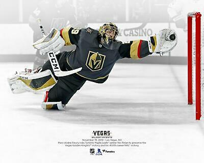"Marc-Andre Fleury Vegas Golden Knights Diving Save vs Toronto 8"" x 10"" Photo"