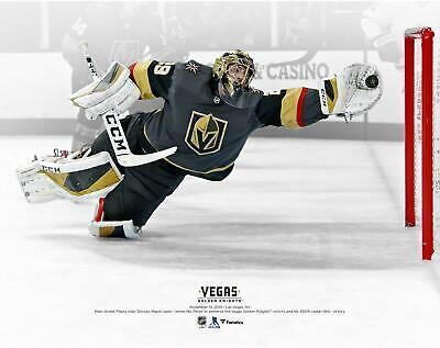 "Marc-Andre Fleury Vegas Golden Knights Diving Save vs Toronto 11"" x 14"" Photo"