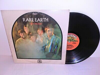 RARE EARTH GET READY Quality Vinyl Lp Album - Orig 1969 Press RS 507 - Rare Soul