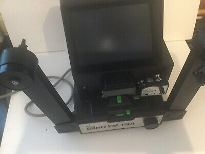 Erno EM-1801 Motorised Film Editor With Sound Attachment Boxed