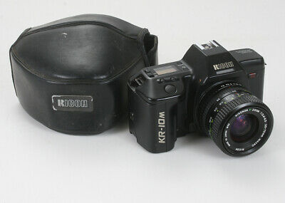 Ricoh Kr-10M Black, 35-70/3.4-4.5 Rikenon P (K-Mount), Has Issues/175705