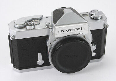 Nikon Nikkormat Ftn Chrome Body, Meter Issues/188403