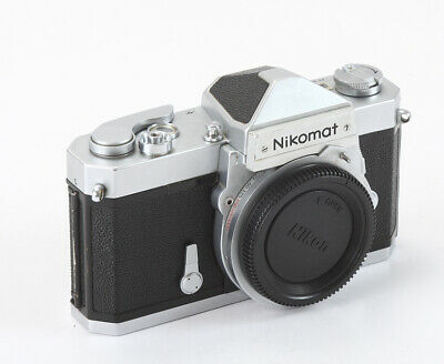 Nikon Nikomat Ftn Chrome Body, Meter Needle Can Be Jumpy/197765