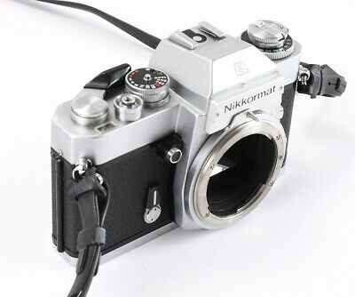 Nikon Nikkormat El Chrome Body, Non-Ai/202914