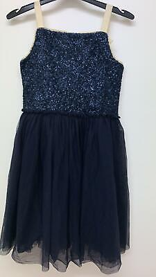 NEW RRP £45.99 Mini Boden Sequin Dress                                     (U21)